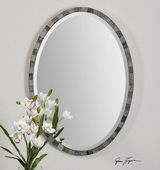 Paredes Oval Mosaic Mirror  - LUT6604