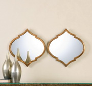 Jebel Antique Gold Mirrors S/2 - LUT1165