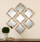 Terlizzi Gold Mirrors S/3 - LUT1181