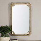 Devoll Antique Gold Mirror - LUT1205