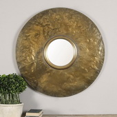 Nedonas Oxidized Gold Mirror - LUT1217