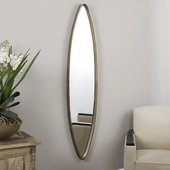 Belsito Oxidized Gold Oval Mirror - LUT1221
