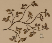 Rusty Branch Metal Wall Art  - LUT7577