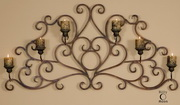 Juliana Metal Wall Art Sconce  - LUT7578