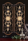Micayla Antique Metal Panels  - LUT7581