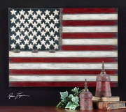 American Flag Metal Wall Art  - LUT7584