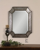 Elliot Distressed Aluminum Mirror  - LUT5892