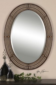 Matney Distressed Bronze Mirror  - LUT5946
