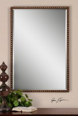 Tempe Distressed Brown Mirror  - LUT5962