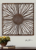Josiah Square Wooden Wall Art  - LUT7590