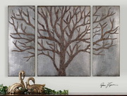 Winter View Rustic Tree Mirror  - LUT7591