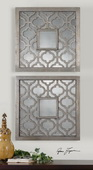 Sorbolo Squares Decorative Mirror   - LUT6032