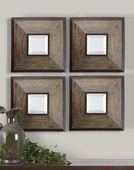 Fendrel Squares Wood Mirror   - LUT6044