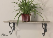 Gualdo Aged Wood Shelf  - LUT7592