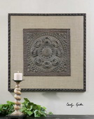 Filandari Stamped Metal Wall Art  - LUT6656