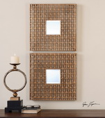 Adelina Square Mirrors Set of 2  - LUT6710