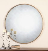 Junius Round Gold Mirror - LUT1243