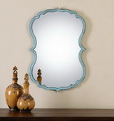 Nicola Light Blue Mirror - LUT1291