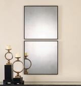 Matty Antiqued Square Mirrors S/2 - LUT1305