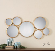 Kanna Gold Wall Mirror - LUT1309