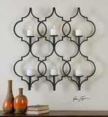 Zakaria Metal Candle Wall Sconce  - LUT7604