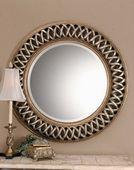 Entwined Antique Gold Mirror  - LUT6050