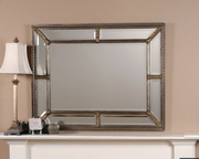 Lucinda Antique Silver Mirror  - LUT6052