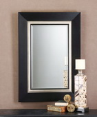 Whitmore Black Vanity Mirror  - LUT6102