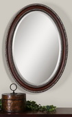 Montrose Oval Silver Mirror  - LUT6136