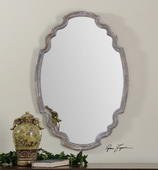 Ludovica Aged Wood Mirror  - LUT6762
