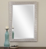 Porcius Antiqued Silver Mirror  - LUT6786