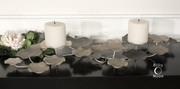 Lying Lotus Metal Candleholders  - LUT7963