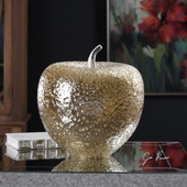 Golden Apple Sculpture - LUT5201