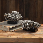 Sessile Barnacle Sculptures Set of 2 - LUT5277