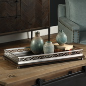 Gualtiero Nickel & Wood Tray - LUT5299