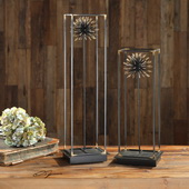 Flowering Dandelions Sculptures Set of 2 - LUT5303