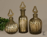 Kaho Antique Silver Perfume Bottles  - LUT7999