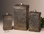 Nera Metal Decorative Boxes  - LUT8031