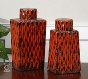 Raisa Burnt Orange Containers  - LUT8053