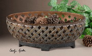 Teneh Lattice Weave Design Bowl  - LUT8058