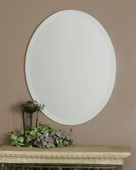 Frameless Vanity Oval Mirror  - LUT6376