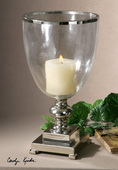 Lino Clear Glass Candleholder  - LUT8115