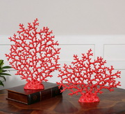 Red Coral Sculpture  - LUT8172