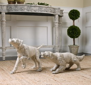 Hudson And Penny Dog Sculptures S/2 - LUT1431