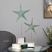Starfish Sculpture Set of 2