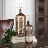 Ginevra Bottles Set of 2