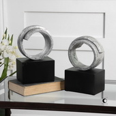 Twist Bookends Set of 2
