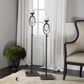 Orienta Candleholders Set of 2