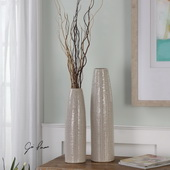 Sara Vases Set of 2