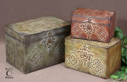 Hobnail Weathered Boxes  - LUT8258
